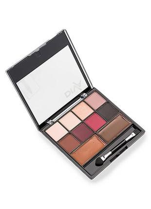 Палетка для макияжа глаз и бровей | sale