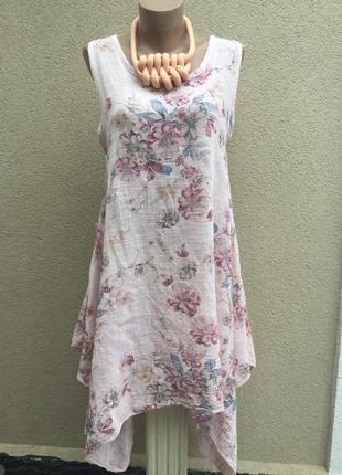 Легкое,летнее,ассиметричный платье,сарафан пляжный,туника,цвет...