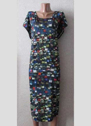 Модное платье армель, большой размер!