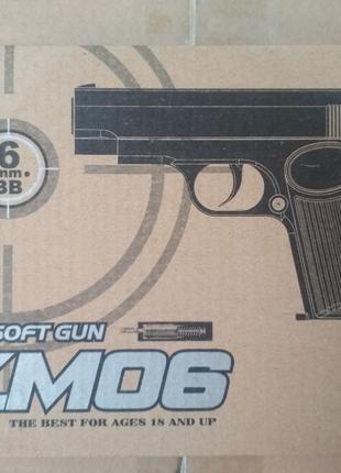 Пистолет ТТ mini металлический страйкбольный