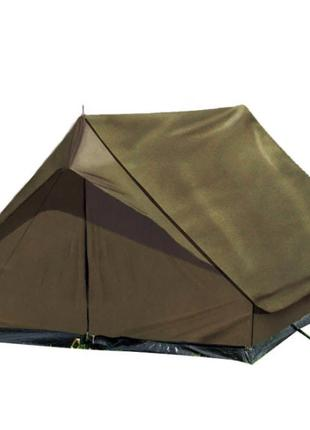 Армейская Немецкая Двухместная палатка Mil-Tec Mini Pack Olive