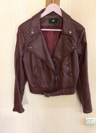 Куртка-косуха укороченая