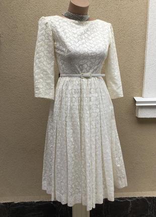 Винтаж,ретро стиль,романтическое платье вечернее,нарядное,круж...