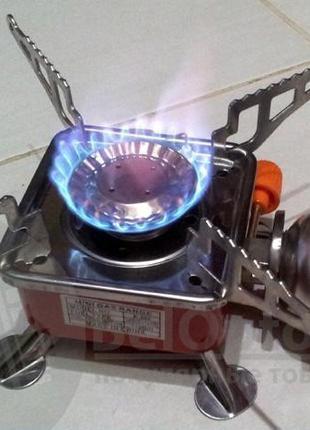 Походная портативная газовая горелка (плита) yc-201 с чехлом
