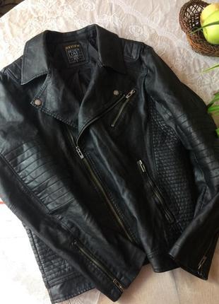 Байкерская куртка-косуха унисекс