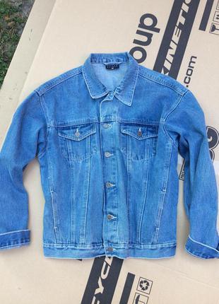 Актуальный джинсовый пиджак уни-секс urban spirit