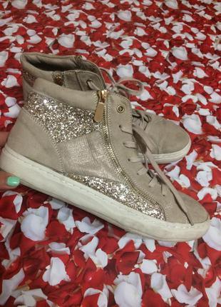 Стильные ботинки-кеды,германия
