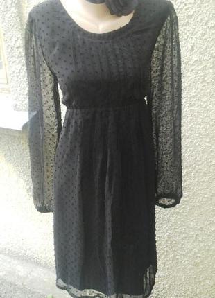 Платье для беременных и не только, с завышенной талией
