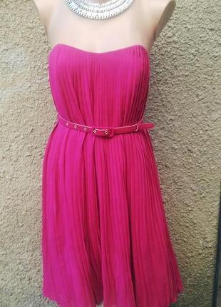 Очень красивое платье бюстье  , плиссе(вечернее,выпускное)