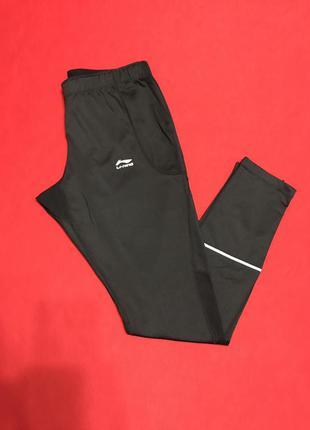 Качественные брюки-лосины для спорта li-ning