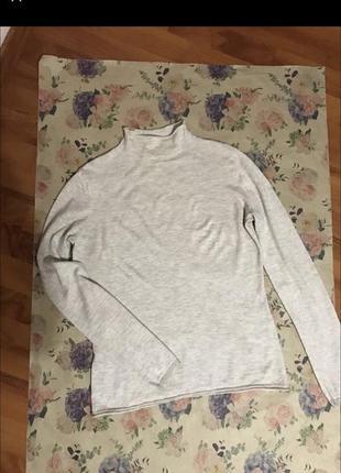 Тонкий свитерок/гольф из шерсти
