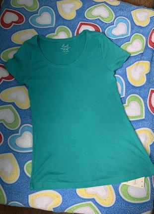 Хлопковая футболка новая
