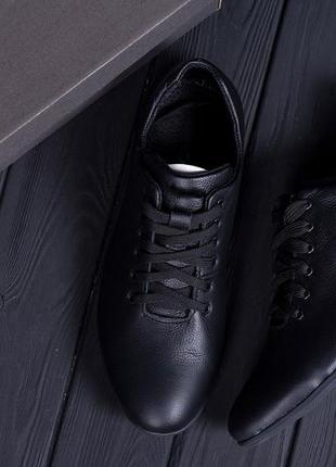 Мужские кожаные туфли  е-series soft
