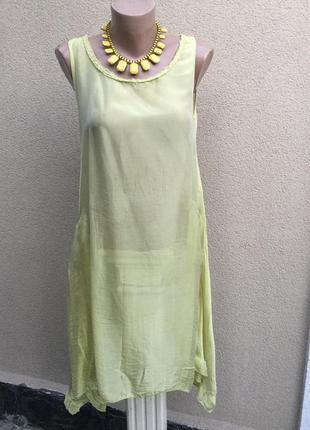 Легкая,100%шёлк,пайетки блуза,ассиметрия туника,платье,сарафан...