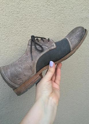 Стильные,комбинированные туфли,кожа100%,rockport by adidas,42 ...