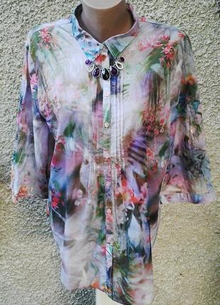 Яркая рубашка,блуза
