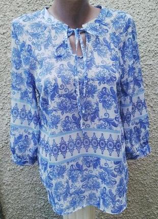 Красивая легкая блузка (рубашка)