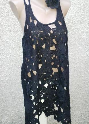 Очень красивая блуза, туника,платье кружевное