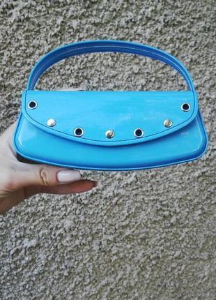 Новый нежно-голубой футляр для очков  beyu, внутри с бархатной...