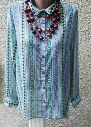 Рубашка удлиненная по спинке,блуза с длинным рукавом, atnosphere,