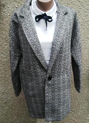 Жакет,пиджак, тонкое полупальто,кардиган,хлопок   new look