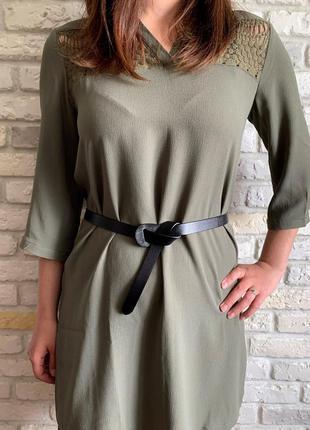 Идеальный женский кожаный ремень узелок, пояс на талию натурал...
