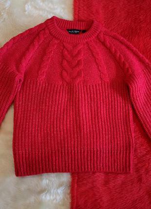 Яркий тёплый свитер  dorothy perkins