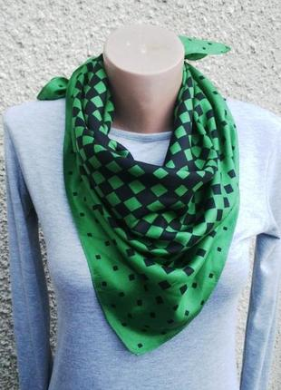 Шелковый платок(шарф)косынка.шелк 100 %