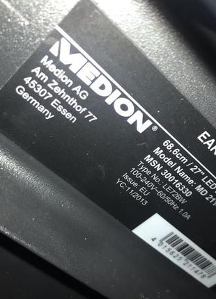 Монітор Medion 27 дюймів