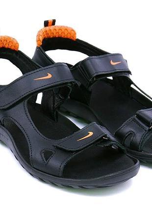 🔥Мужские кожаные сандалии Nike🔥