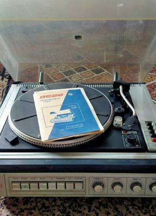 Проигрыватель виниловых пластинок / Электрофон ВЕГА-109