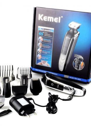Машинка для стрижки волос Kemei KM-1832 триммер стайлер