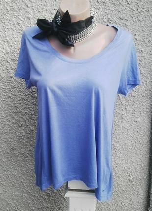 Комбинированная ,шелковая футболка,блуза от  tommy hilfiger