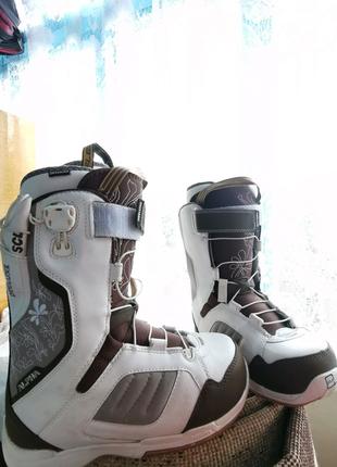 Сноуборд ботинки боты deeluxe alpha детские женские боти burton n