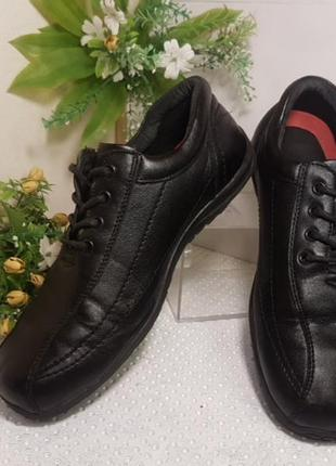 Туфли мужские кожаные со шнуровкой