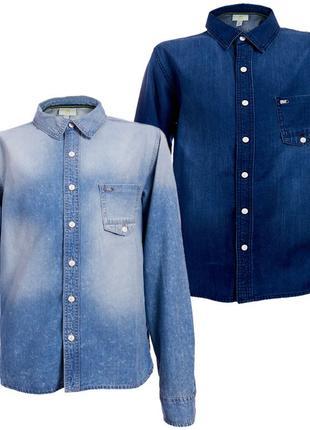 Мужская джинсовая рубашка Adidas NEO S 48 Z67173 Оригинал EAN 40