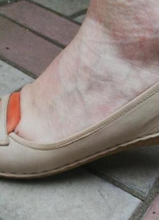 Кожаные туфли,мокасины,балетки,мягкие и очень удобные,большой ...