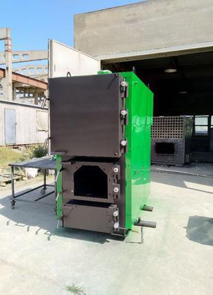 Твердотопливный котел 900 кВт длительного горения, пеллетный к...