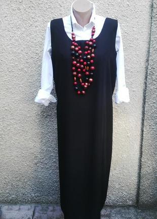 Платье,сарафан прямого кроя,под пояс,большой размер