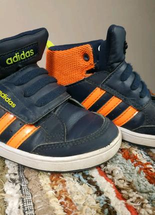Кроссовки для мальчика на липучке, adidas,24