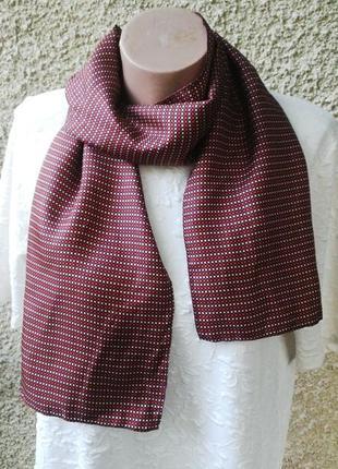 Шелковый шарф, платок,шелк 100%