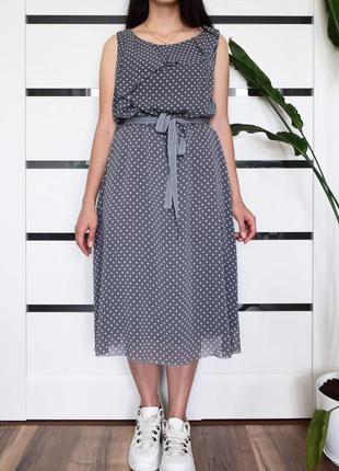 Платье в горох (новое, с биркой) per una