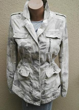 Стильная,камуфляжная  парка (куртка),жакет,пиджак,clockhouse