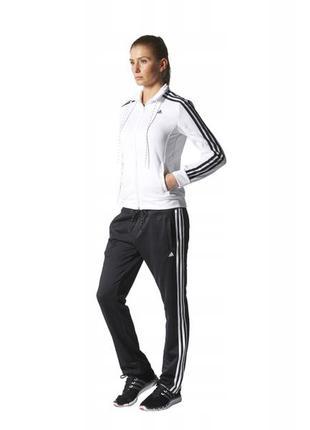 Олимпийка adidas originals кофта спортивная белая мастерка раз...