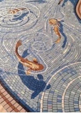 Укладка тротуарной плитки, песчаника, гранита