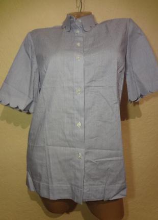 Классная рубашка с коротким рукавом от banana republic размер ...