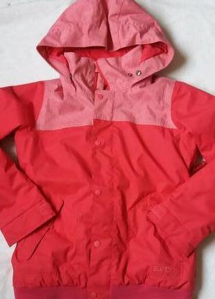 Термо куртка burton на 10-12лет рост 136-147см