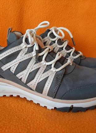 Кожаные кроссовки clarks trigenic р.40 d