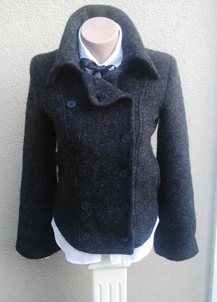 Красивый,шерстяной жакет,пиджак,кардиган(куртка) kookai