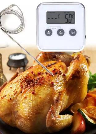 харчовий термометр зі щупом,электронный,таймер,кухонный